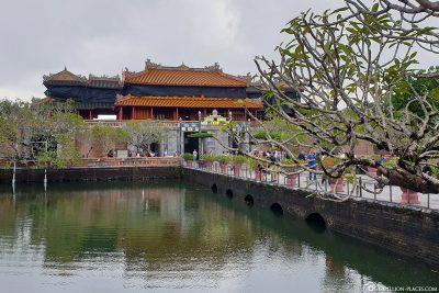 Das Noon Gate der Kaiserlichen Stadt