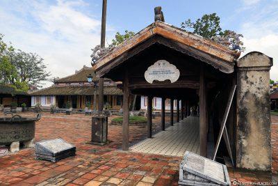 Nebengebäude am Thai Hoa Palast