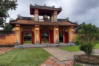 Gate at Hien Lam Pavilion