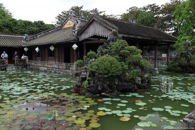 Lotus Lake at Truong Du Pavilion