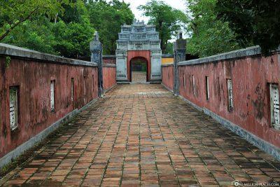 Ein langer Korridor