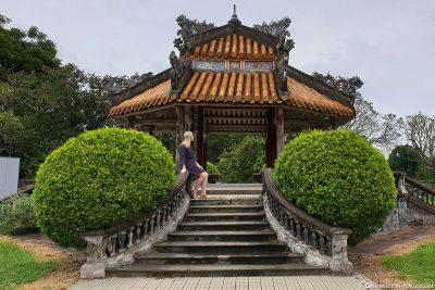 Ein schöner Pavillon