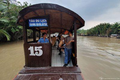 Unsere Bootsfahrt im Mekong-Delta