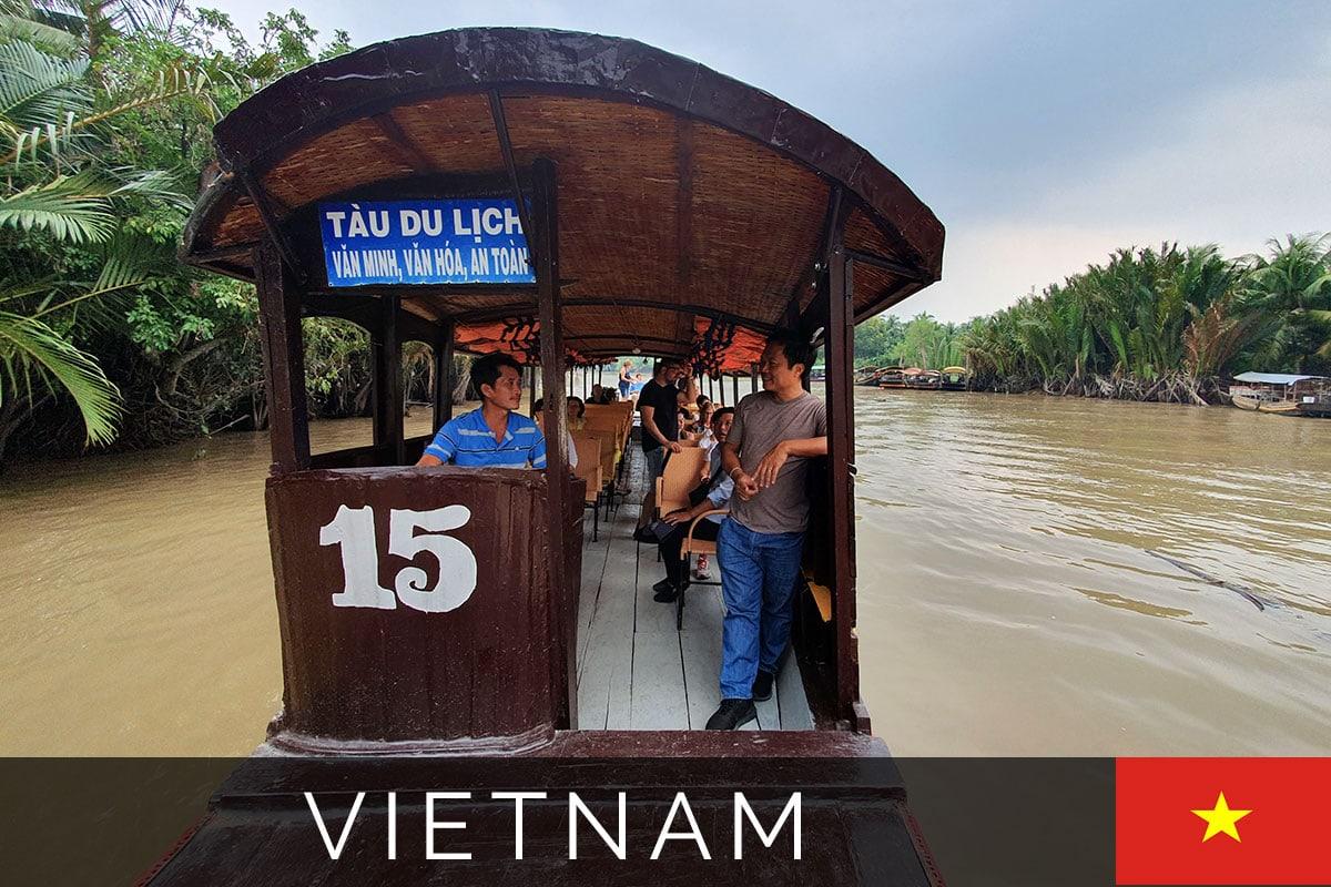 Mekong River Bootstour Titelbild