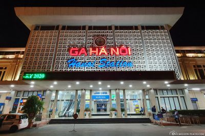 Der Bahnhof in Hanoi