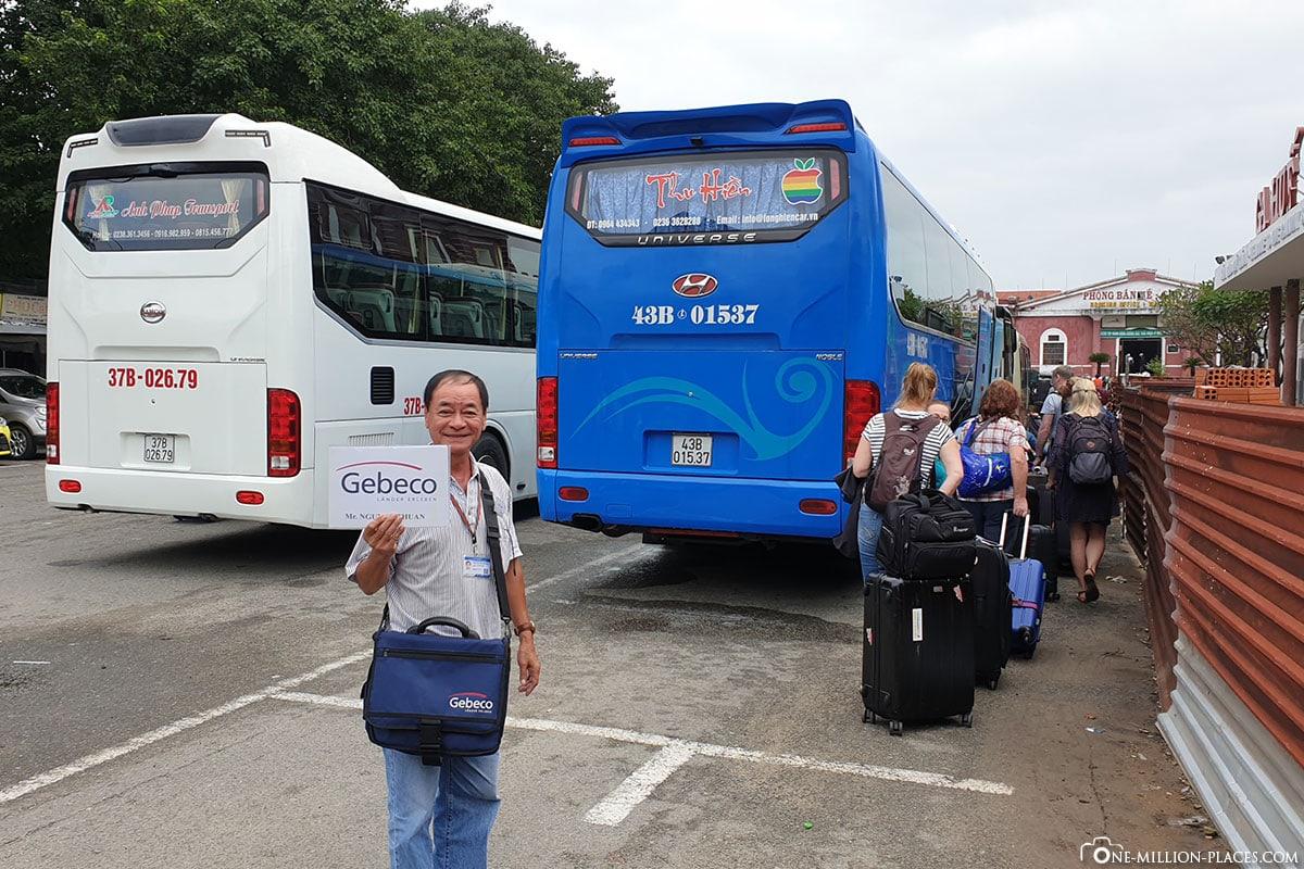 Gebeco Reiseleiter, Nachtzug, Hanoi nach Hue, Vietnam, Gebeco, Typisch Vietnam, Zugfahrt, Reisebericht