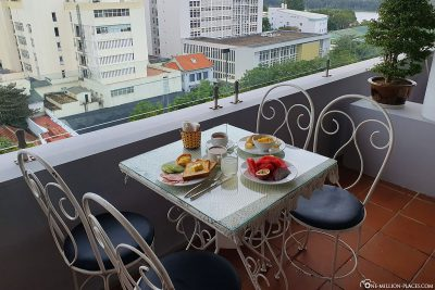Breakfast at Park View Hotel Hue