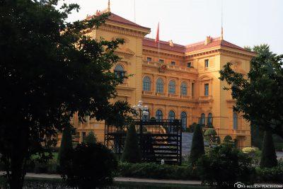 Der Präsidentenpalast in Hanoi
