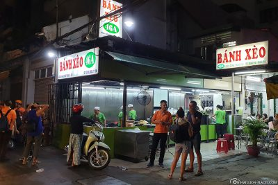The Banh Xeo restaurant