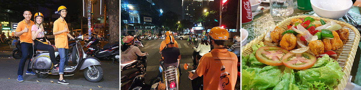 Saigon Adventures Vespa Tour Headerbild