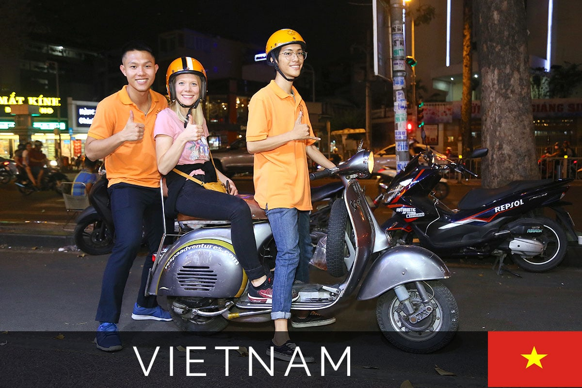 Saigon Adventures Vespa Tour Titelbild