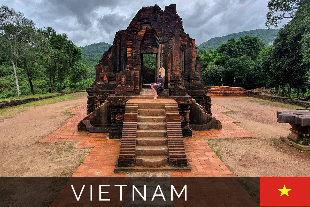 Tempelstadt My Son Vietnam Titelbild