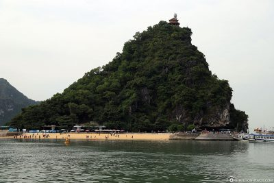 Das Titop Island in der Halong Bay