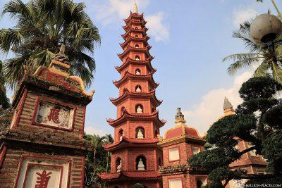 The Tron Quc Pagoda