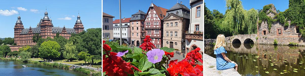 Aschaffenburg Altstadt Bayern Headerbild