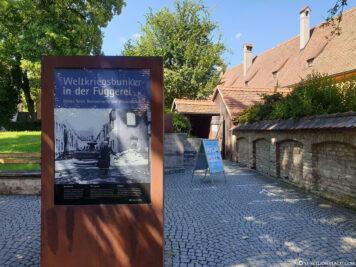 Weltkriegsbunker in der Fuggerei