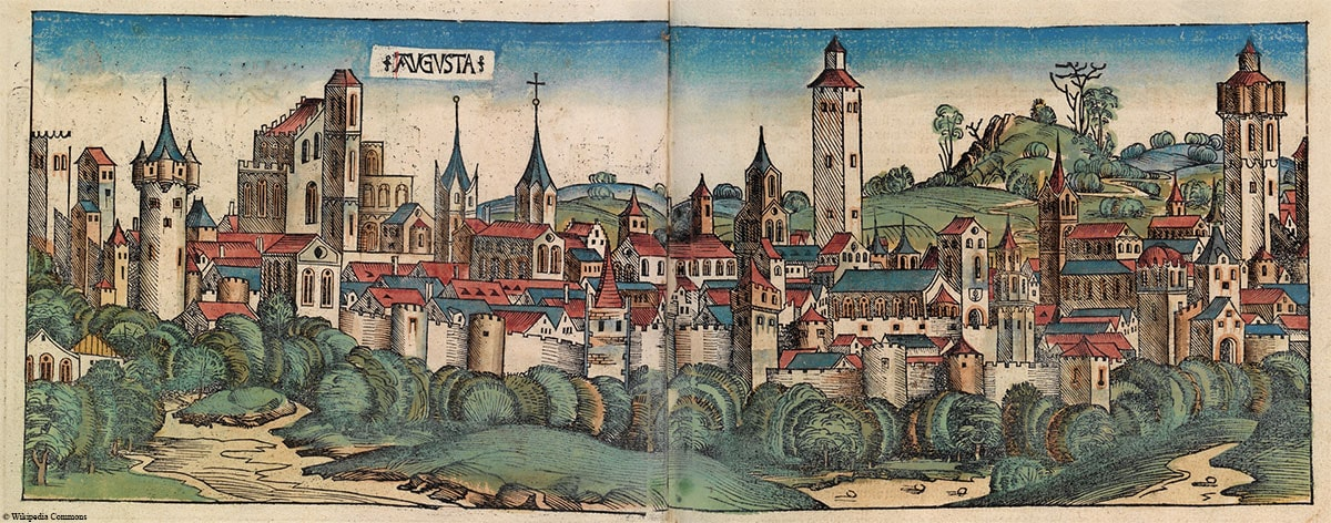 Augsburg, Altes Bild, Geschichte, Reisebericht