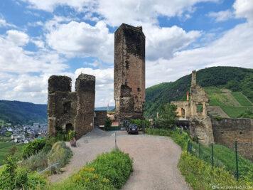 Die Burg Metternich in Beilstein