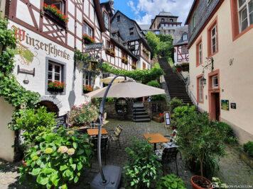 Die Klostertreppe in Beilstein
