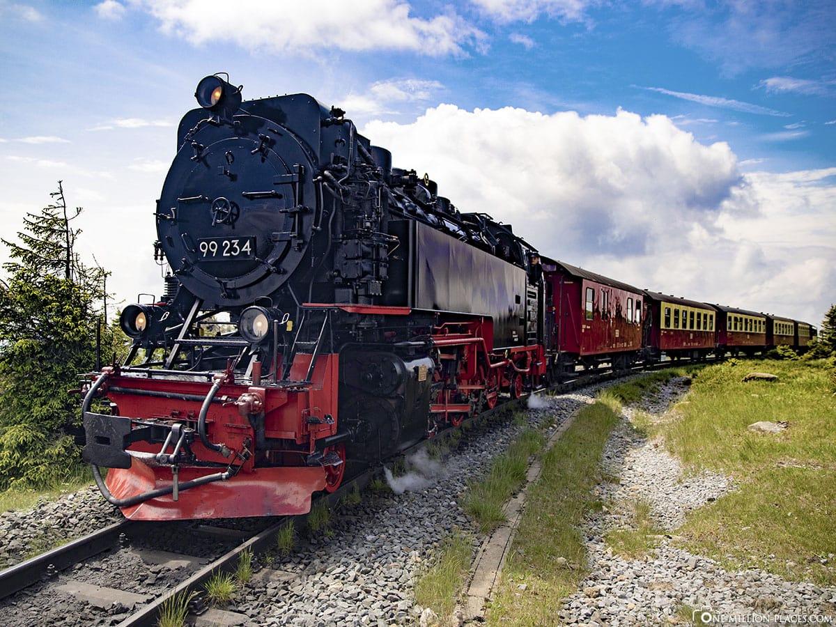 Brockenbahn, Harz, Gipfel, Dampflok, Reisebericht, Deutschland