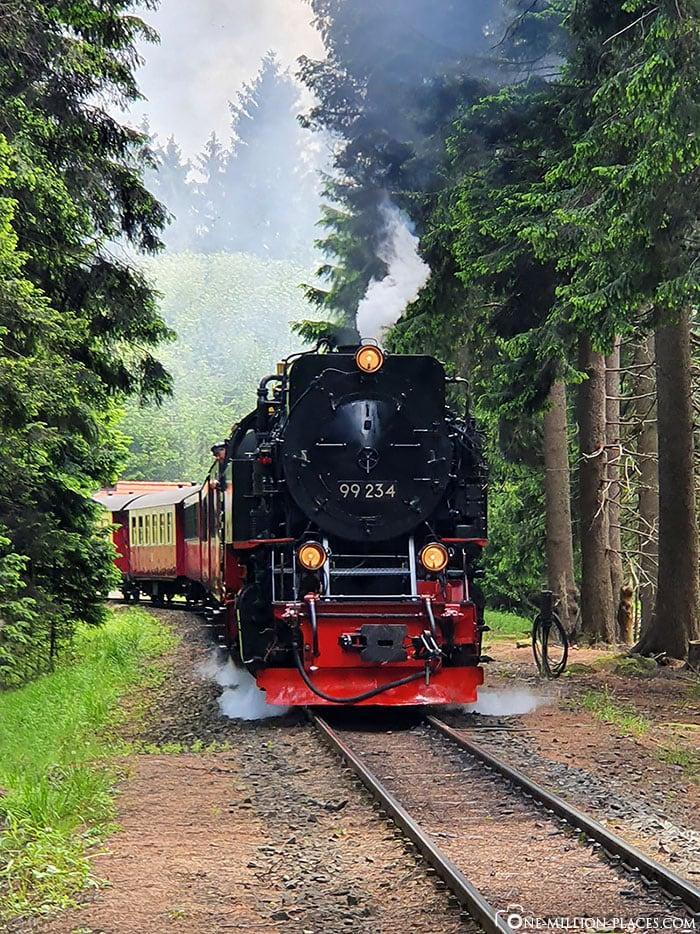 Brockenbahn, Schierke, Harz National Park, Steam Locomotive, Travel Report