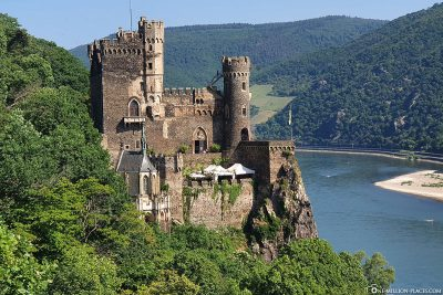 Rheinstein Castle on the Rhine