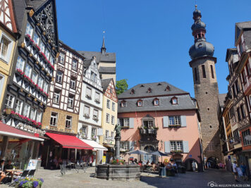 The marketplace in Cochem