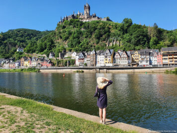 The town of Cochem on the Moselle