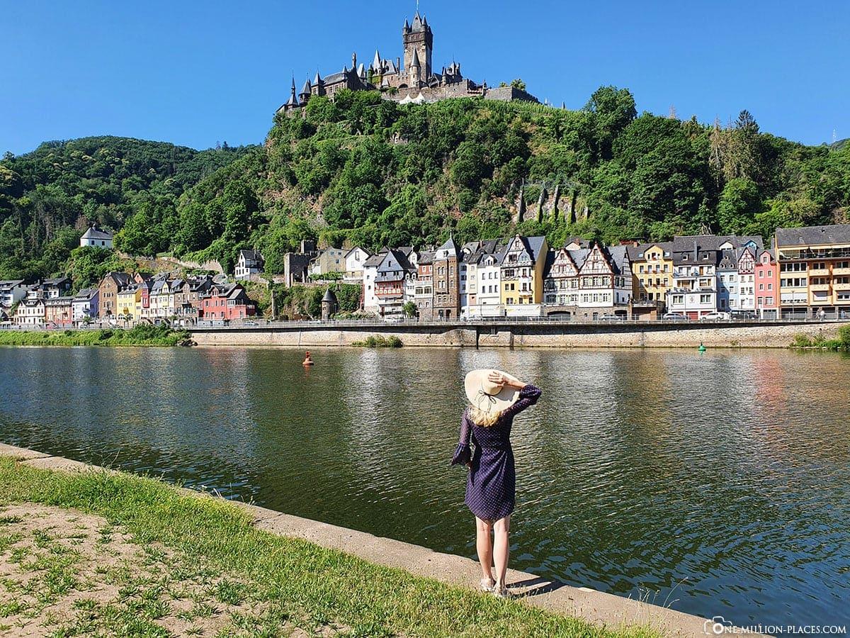 Cochem, Mosel, Bester Blick, Reichsburg, Stadtbild, Rheinland-Pfalz, Deutschland, Reisebericht