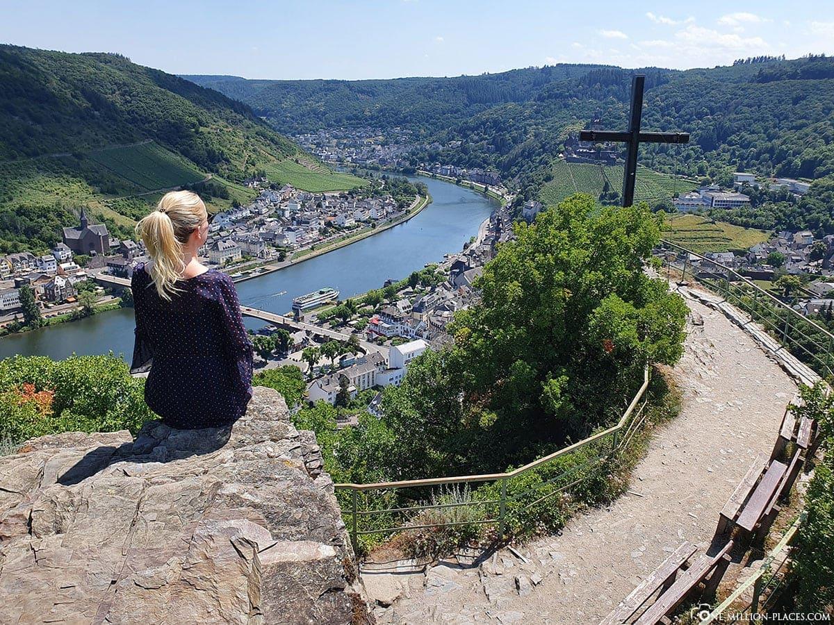 Aussichtspunkt Pinnerkreuz, Cochem, Mosel, Reisebericht, Seilbahn, Auf eigene Faust