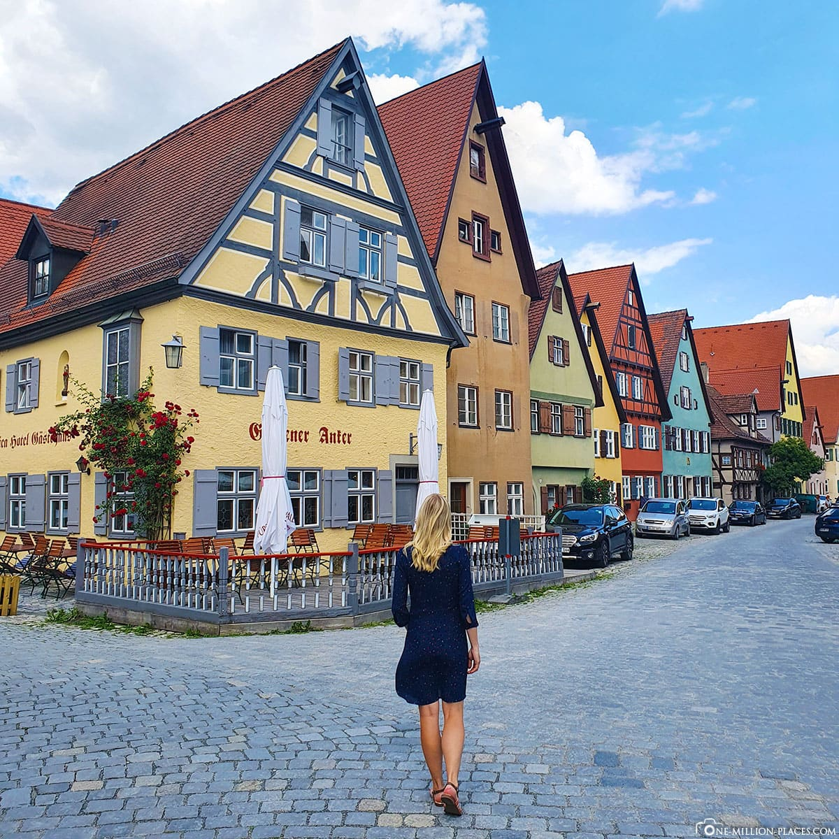 Dinkelsbühl, Spaziergang, Altstadt, Stadtbesichtigung, Reisebericht