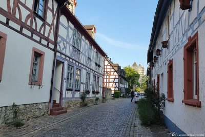 The alleys in Eltville am Rhein