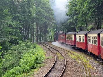The train line to Drei Annen Hohne