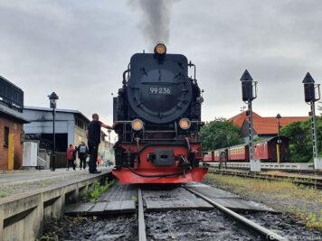 Die Dampflok der Brockenbahn