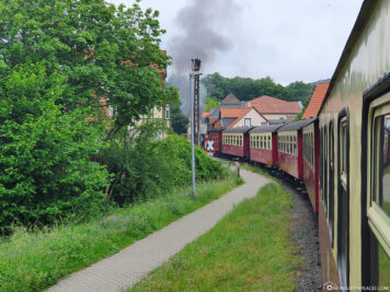 Drive through Wernigerode