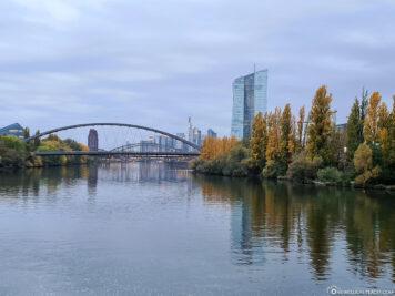 Der Main bei Frankfurt