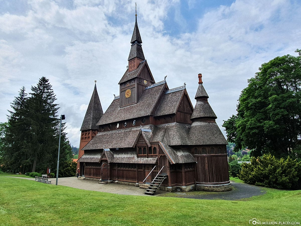 Gustav-Adolf-Stabkirche, Hahnenklee, Goslar, Sights, Germany