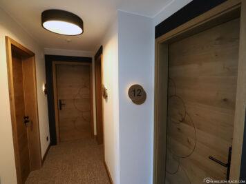 Eingang zum Hotelzimmer