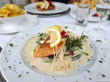 Dinner at the Klostergasthof Roggenburg