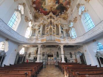 Choir room of the monastery church