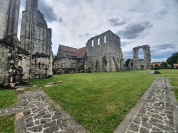 Ruins of the monastery church