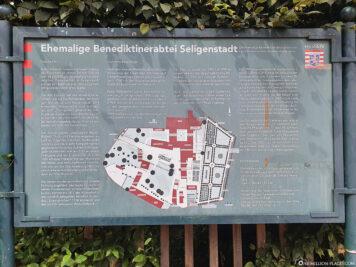 A plan from Seligenstadt Abbey