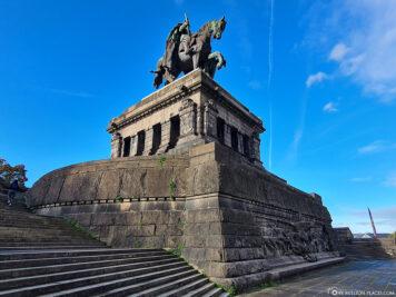 Das Denkmal von Kaiser Wilhelm I.