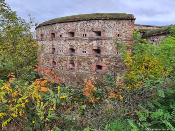 Die Festung Ehrenbreitstein
