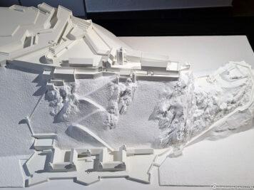 Modell der Festung Ehrenbreitstein
