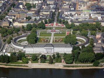 Das Kurfürstliche Schloss in Koblenz