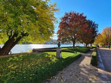 Das Rheinufer in Koblenz