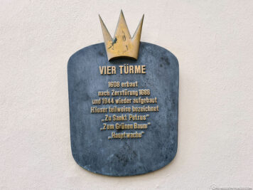 """Die Denkmalzone """"Vier Türme"""""""