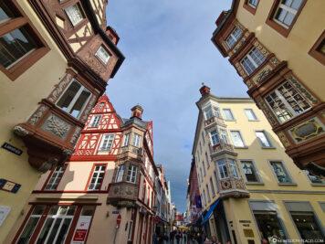 Die Vier Türme in der Altstadt von Koblenz
