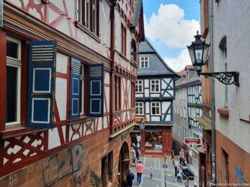 Die Gassen der Altstadt